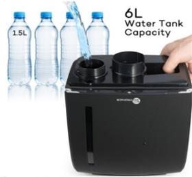 Der 6 Liter Wassertank